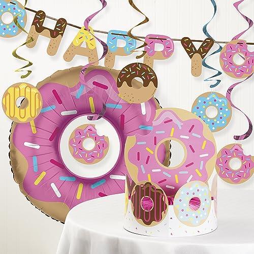 Donut Party Decorations Amazon Com
