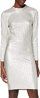 IVYREVEL Open Back Metallic Dress Vestito da Sera Donna