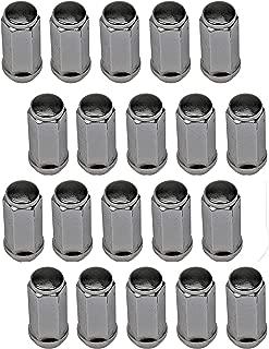 Dorman 711-1405 Wheel Nut Acorn M14-2.0 for Select Ford/Lincoln Models, Chrome (Pack of 24), 24 Pack