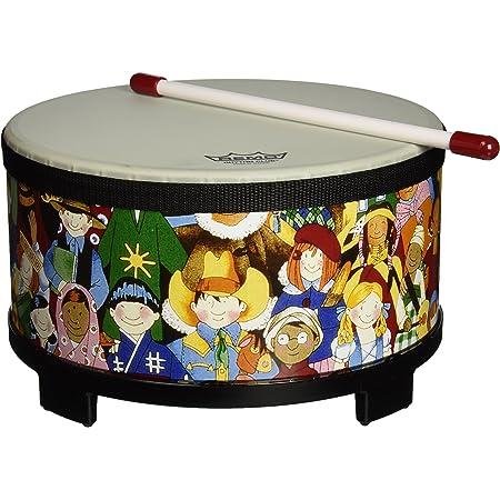 """Remo RH-5010-00 Rhythm Club Floor Tom Drum - Rhythm Kids, 10"""""""