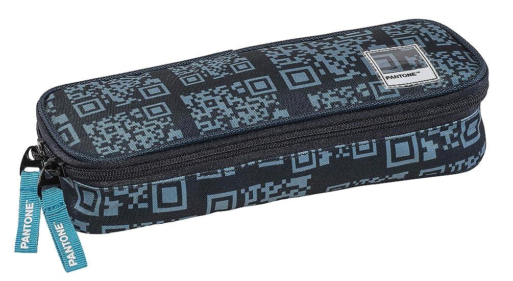 Graffiti Pantone Pencil Cases, 22 cm, Blue (Blue-Grey)
