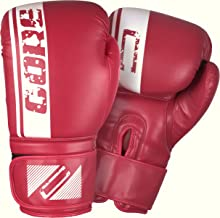 CORE SPORTS Boxing Gloves for Men & Women Training Sparring Kickboxing Leather UFC MMA Muay Thai Pro Punching Fight Heavy Bag Mitts