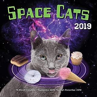 Space Cats 2019: 16-Month Calendar - September 2018 through December 2019