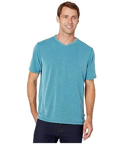 Tommy Bahama Tropicool Paradise IslandZone V-Neck T-Shirt (Summer Night) Men