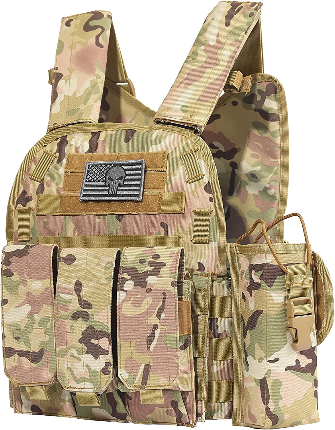 Tactical PALS Molle Airsoft Cheap mail order specialty store Paintball Cummerbund with Milwaukee Mall Vest Side