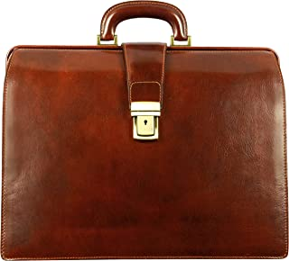 womens leather lawyer briefcase