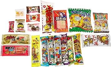 Japanese Candy Box assortment Kit 20pcs Dagashi Umaibo Snack Gumi potato Chip Kitty chocolate (20 pieces set)