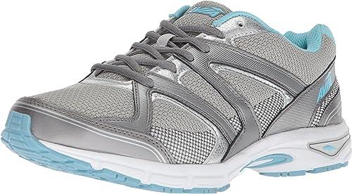 Avia Wohommes Avi-Execute-II FonctionneHommest chaussures, Chrome argent Metallic gris Topaz bleu, 11 W US