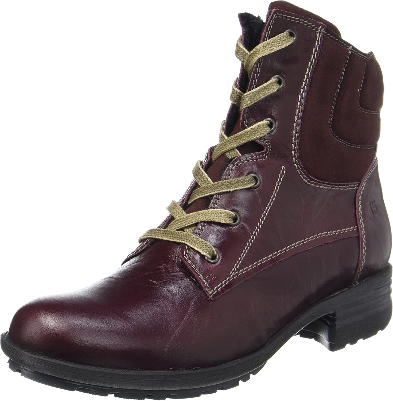 Josef Seibel Womens Sandra 64 Leather Boots