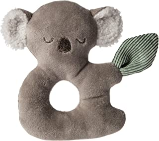 Mary Meyer Soft Toy Baby Rattle, 6-Inches, Down Under Koala (44110)