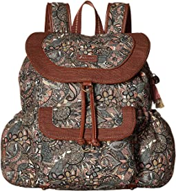 Artist Circle Flap Backpack