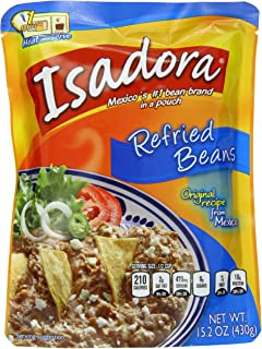 Isadora Original Refried Beans, 15.2-Ounce (Pack of 8)