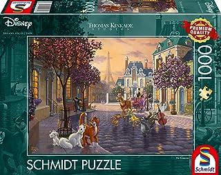 Thomas Kinkade Disney The Aristocats 1000 Piece Jigsaw Puzzle