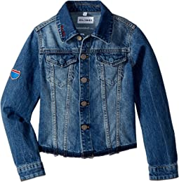 Manning Embroidered Jean Jacket (Big Kids)