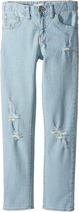 505C Girlfriend Straight Jeans (Big Kids)