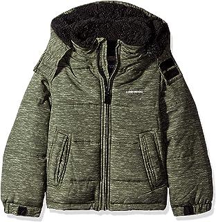 LONDON FOG Boys' Big Warm Winter Jacket with Cozy Lining