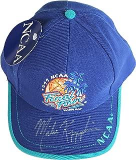 Mike Krzyzewski Duke Blue Devils Autographed Signed 1999 Final Four Cap Hat CAS COA
