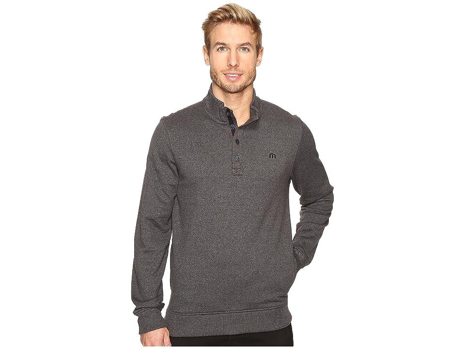 TravisMathew Wall Sweater (Quiet Shade/Black) Men