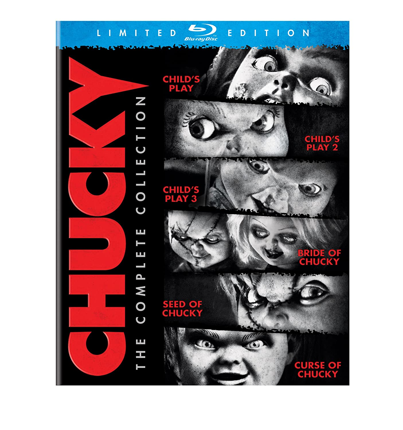 Chucky: Discount mail order The Complete Ranking TOP7 Collection Blu-ray