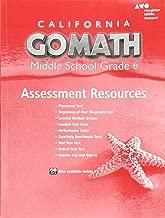 Go Math! California, Grade 6: Assessment Resource With Answers (Holt McDougal Go Math!)