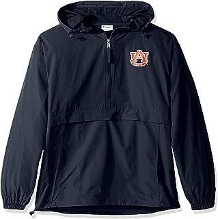 NCAA Men's Half Zip Front Pocket Packable Jacket Alabama Crimson Tide X-Large
