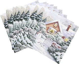 Hallmark Charity Christmas Card Pack 'Wonderful' - 10 Cards, 1 Design