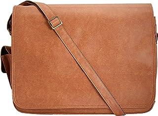 ENEW Insignia Laptop Messenger Bag (RUST)
