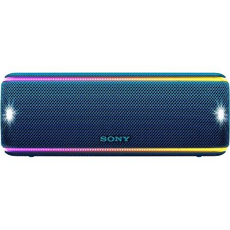 Sony SRS-XB31 Portable Wireless Bluetooth Speaker - Blue - SRSXB31/LI (Renewed)