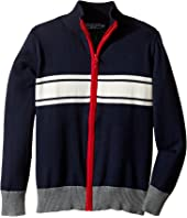 Toobydoo - Into The Arctic Zip-Up Sweater (Toddler/Little Kids/Big Kids)