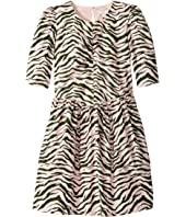 Stella McCartney Kids - Zebra Stripe Dress (Toddler/Little Kids/Big Kids)