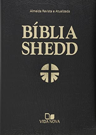 Bíblia Shedd - Capa Covertex Preta