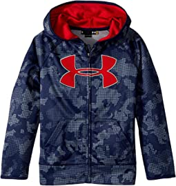 Utility Camo Big Logo Hoodie (Little Kids/Big Kids)