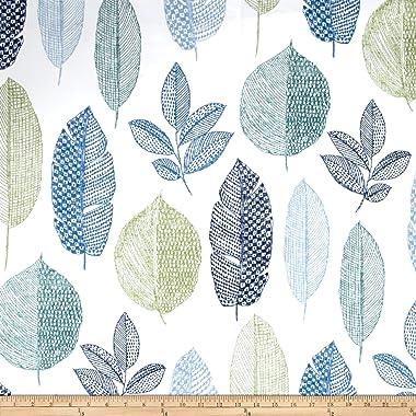 Richloom Fabrics Rynell Twill Fabric, Baltic