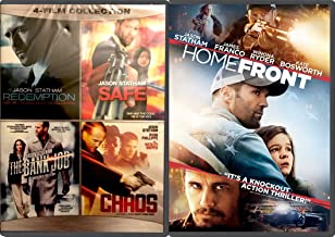 Jason Statham 5-Movie Action Collection - Redemption, Safe, The Bank Job, Chaos & Home Front Film Bundle