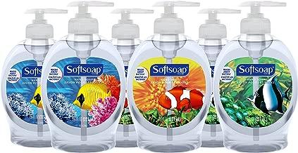 Softsoap Liquid Hand Soap, Aquarium - 7.5 Fl Oz (Pack of 6)