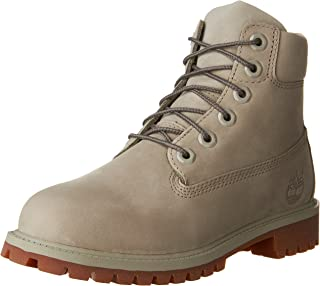 6-inch Premium Waterproof Boot (5 Big Kid M) Grey