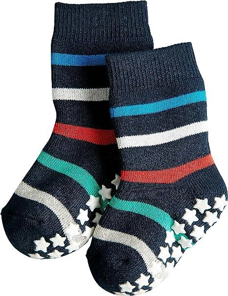 easy care Multiple Colours Skin friendly Sizes 1-18 months FALKE Baby Spark Stripe Socks Cotton Blend 1 Pair reinforced stress zones for optimum durability