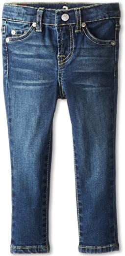 7 For All Mankind Kids - Skinny Jean in Nouveau New York Dark (Toddler)