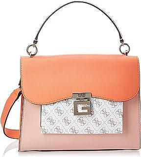 Guess Enrica Top Handle Flap Bag for Women