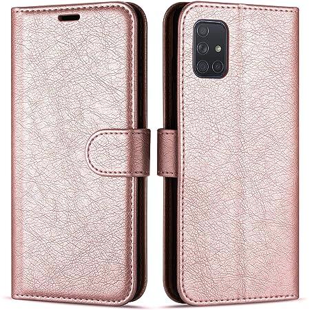Case Collection Étui de Style Portefeuille avec Rabat pour Coque Samsung Galaxy A71 (6,7