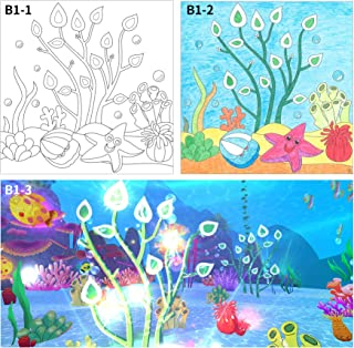 Coloring Books For Kids 3D Interactive Imagine VR Goggles Included Activity Pages for Teens Learning Coloring pages for Girls Boys Virtual Reality Color Fun, Alive Action Coloring Pages with app