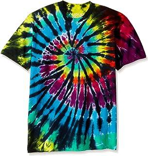 Liquid Blue Men's Rainbow Spiral Streak T-Shirt