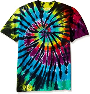 Men's Rainbow Spiral Streak T-Shirt