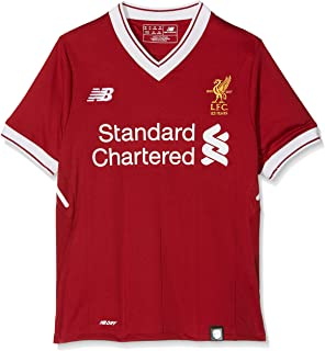 595821ab4 New Balance Liverpool FC Home Junior SS Jersey  Red Pepper