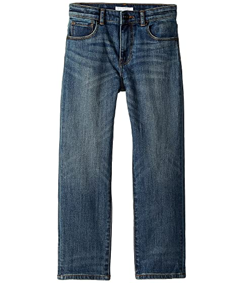 Burberry Kids Relaxed Jeans ACFVE in Mid Indigo (Little Kids/Big Kids)