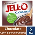Jell-O Cook & Serve Pudding & Pie Filling, Chocolate, 5 oz