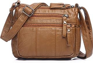 Best Purses for Women Soft PU Leather Shoulder Bag Ladies Crossbody Purse Pocketbooks Reviews