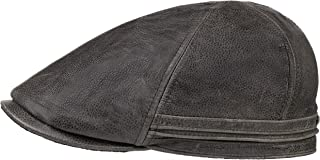 leather flat cap uk