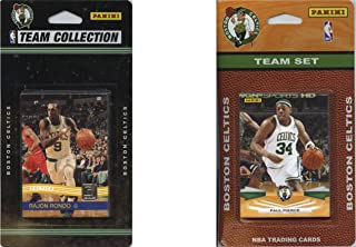 NBA Boston Celtics 2 Different Licensed Trading Card Team Sets