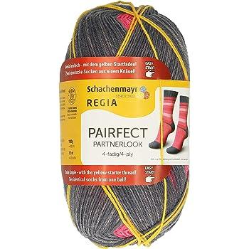 Regia Design Line 100 G Chaussettes Laine FB pairfect 09093 sandalstrand Color